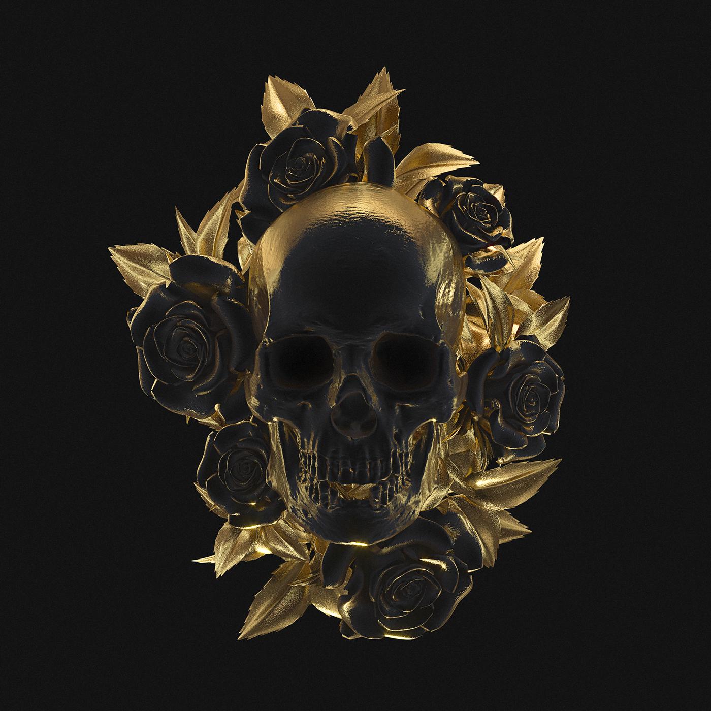 если хотите золотой череп картинка узнаете, что