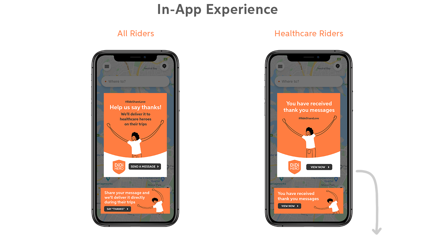 Australia award campaign Creative Direction  design didi healthcare rideshare Uber