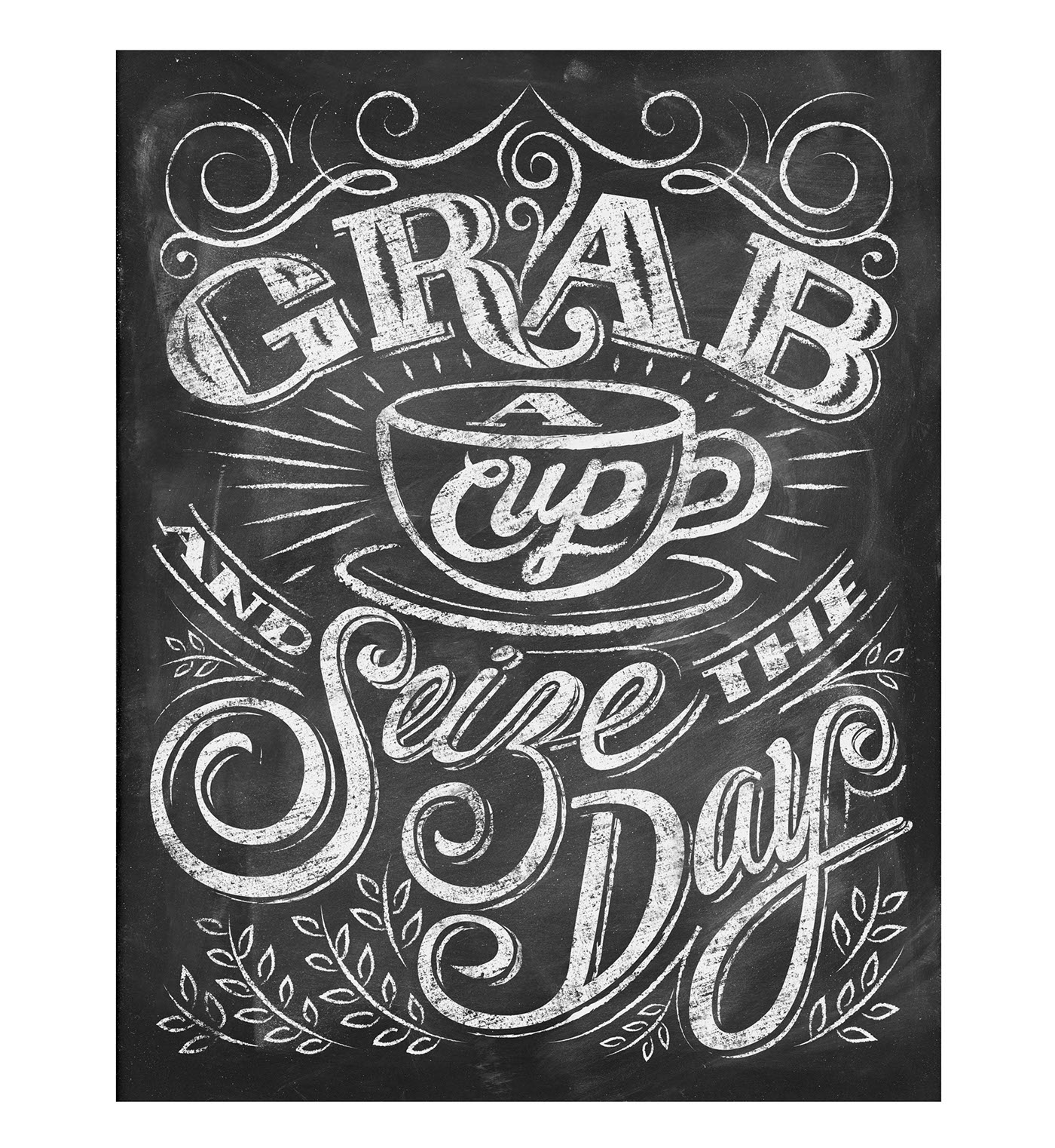 But First...Coffee Chalkboard Home or Office Sign DIY  |Coffee Chalk Art