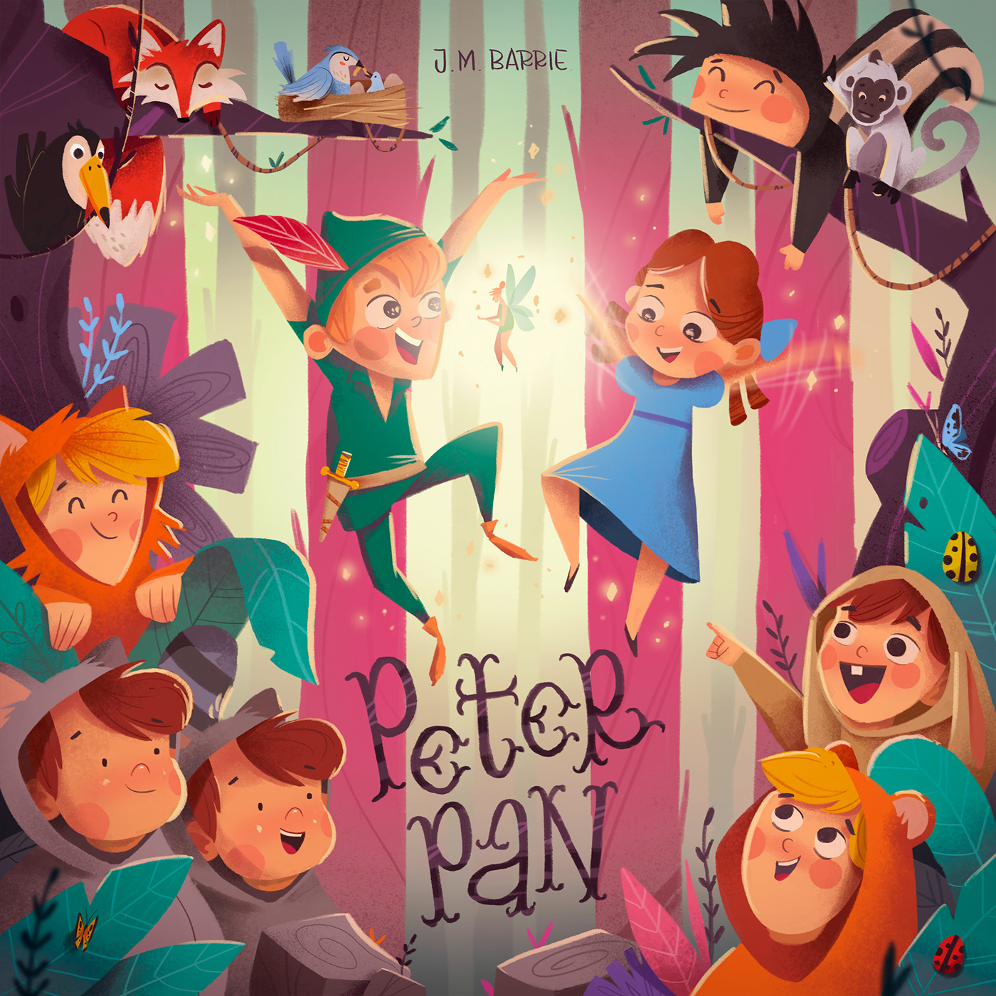classic tales,book,children's book,characters,peter pan,alice,Robin Hood,little red riding,mowgli,jungle's book