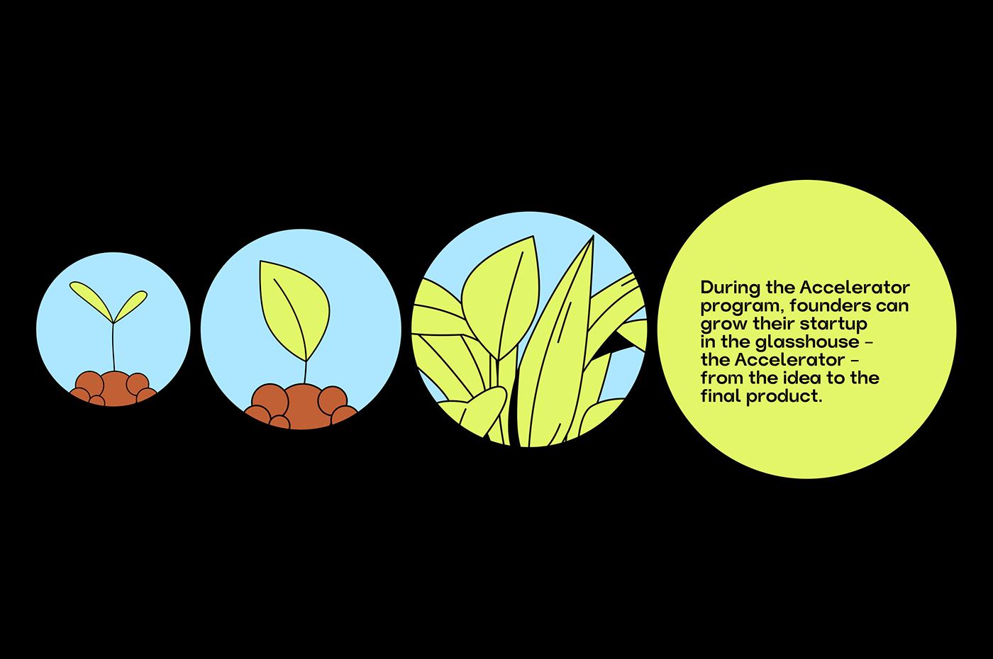 art direction  branding  corporate defi Fintech identity Space  Startup illustrations innovation