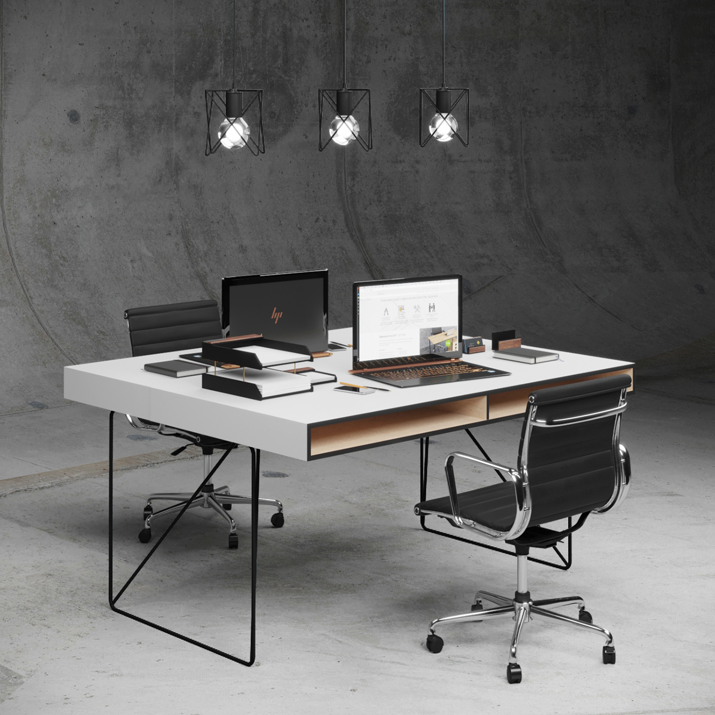 Office Furniture Collection on Behance