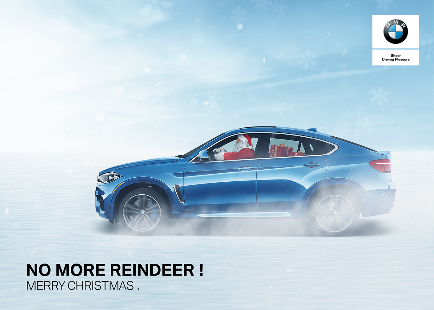 No More Reindeer Bmw Egypt Christmas Greeting On Behance
