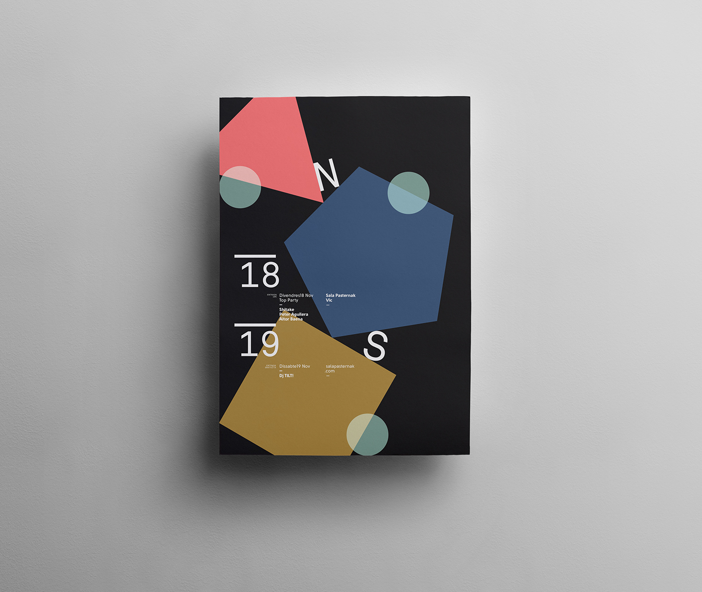 poster design Original barcelona quimmarin