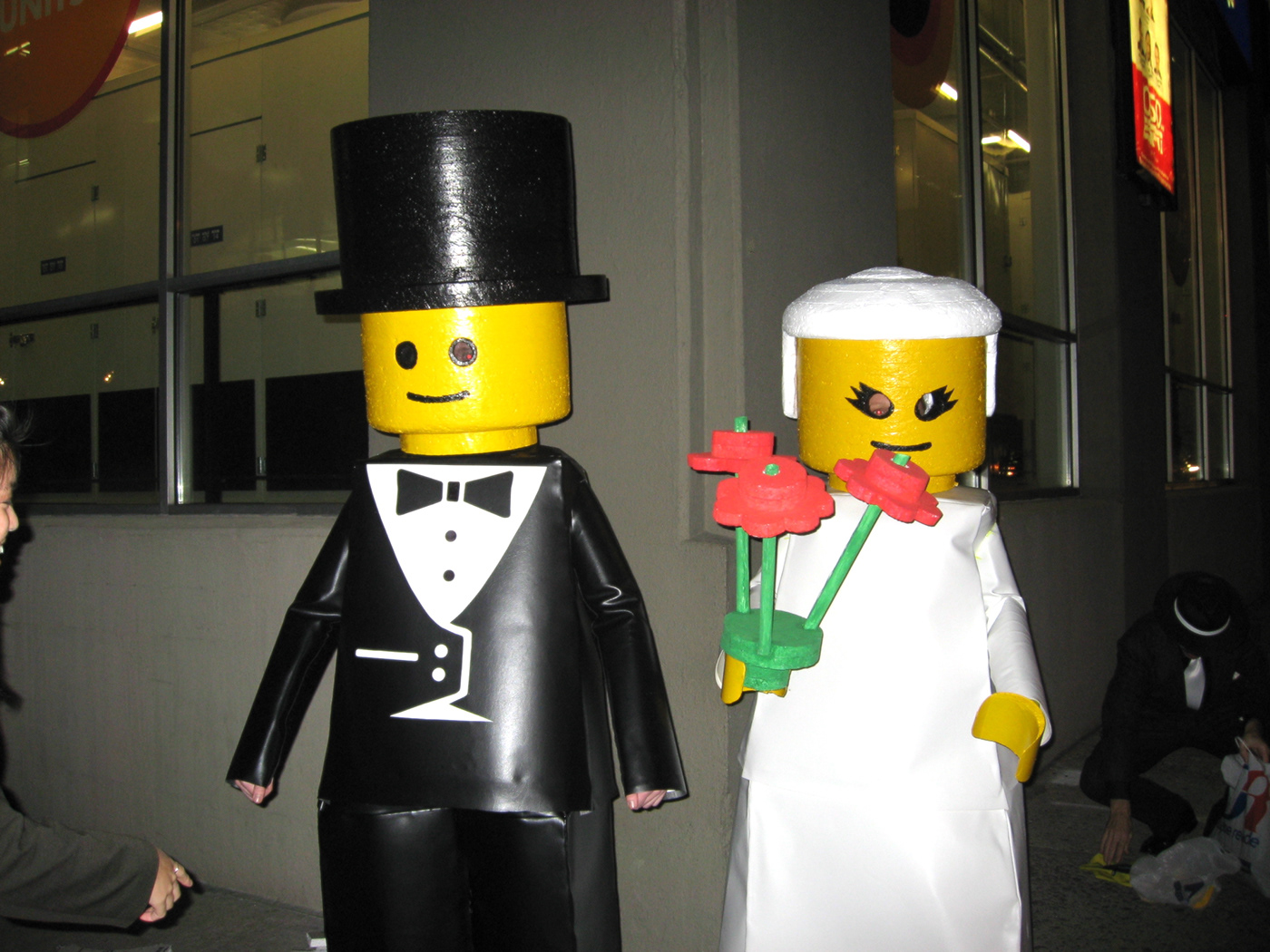 LEGO costume lego costume bride and groom Lego minifigure minifig lego minifig minifig costume