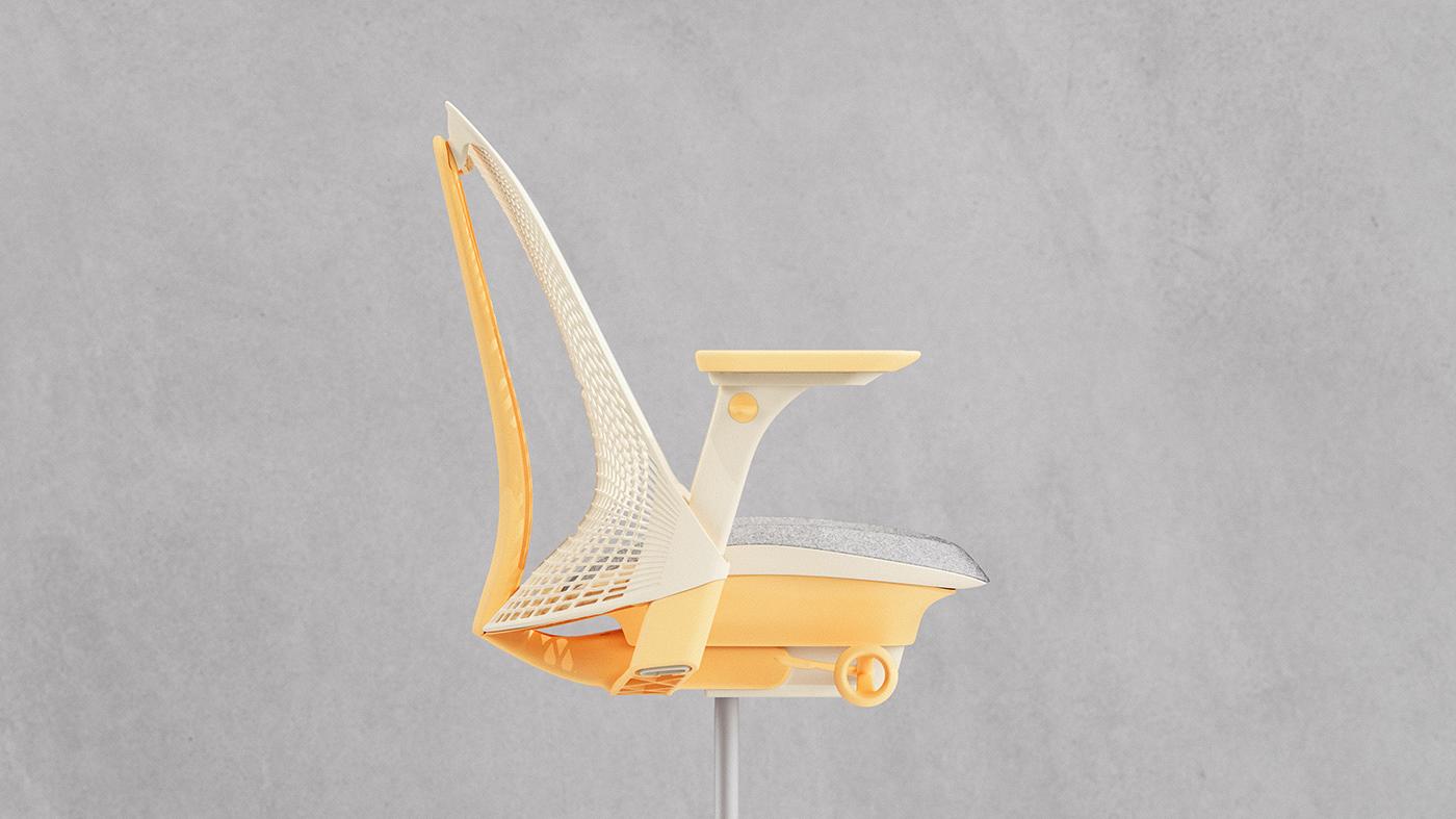 ai chair CMF Design computational creative coding customizable design tools furniture design  generated chair generative design