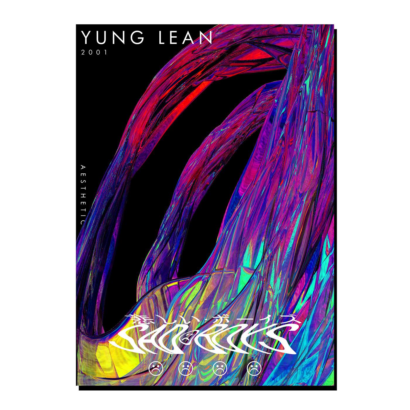 graphic design  Poster Design album art aesthetic