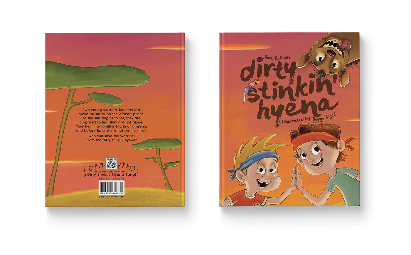 Dirty Stinkin Hyena front and back cover