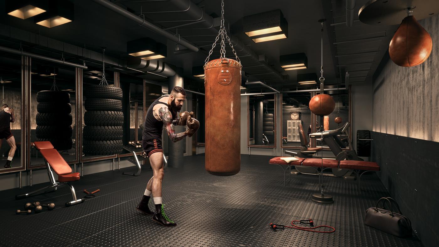 Фото лофт бойцовских клубов