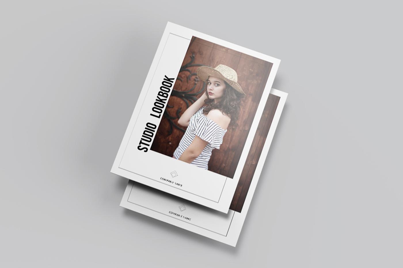 fashion lookbook template on behance