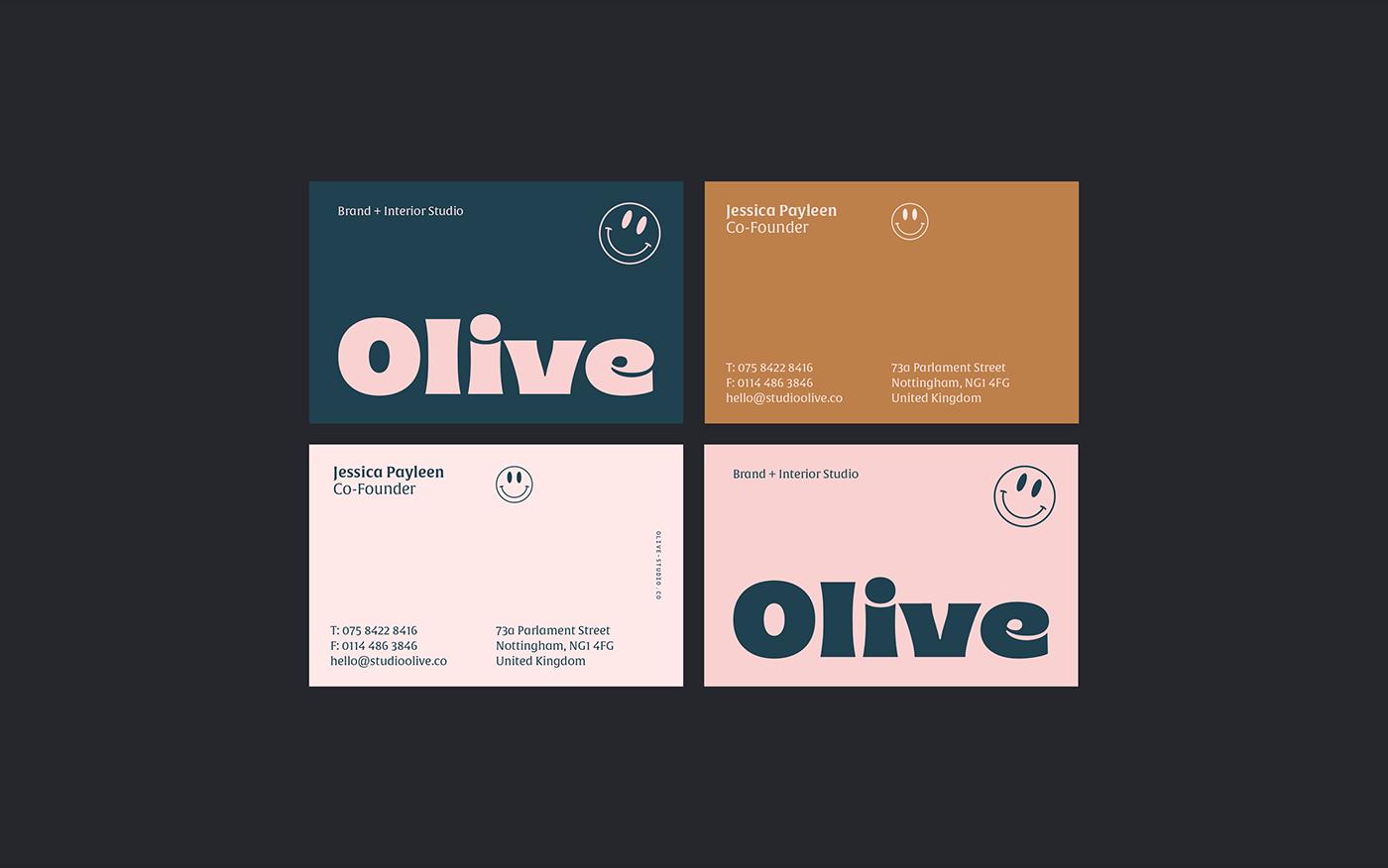 brand branding  business card colour logo minimal poster type typography