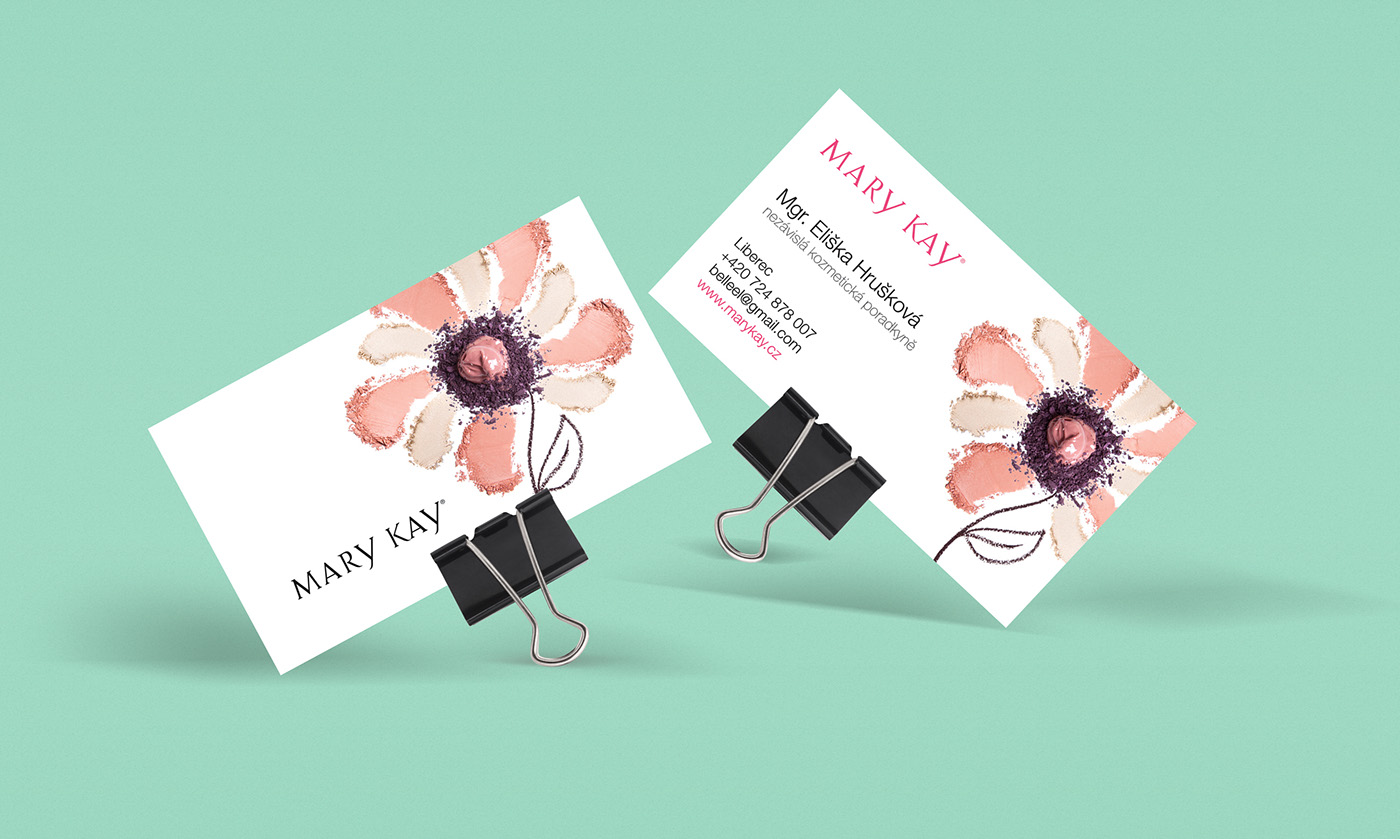 Marykay  businesscard beauty woman makeup
