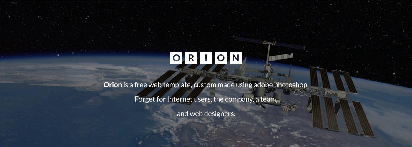 orion Theme template free psd free theme Free Template psd freebie freebie company web Website Web Template company template Website Design gratis