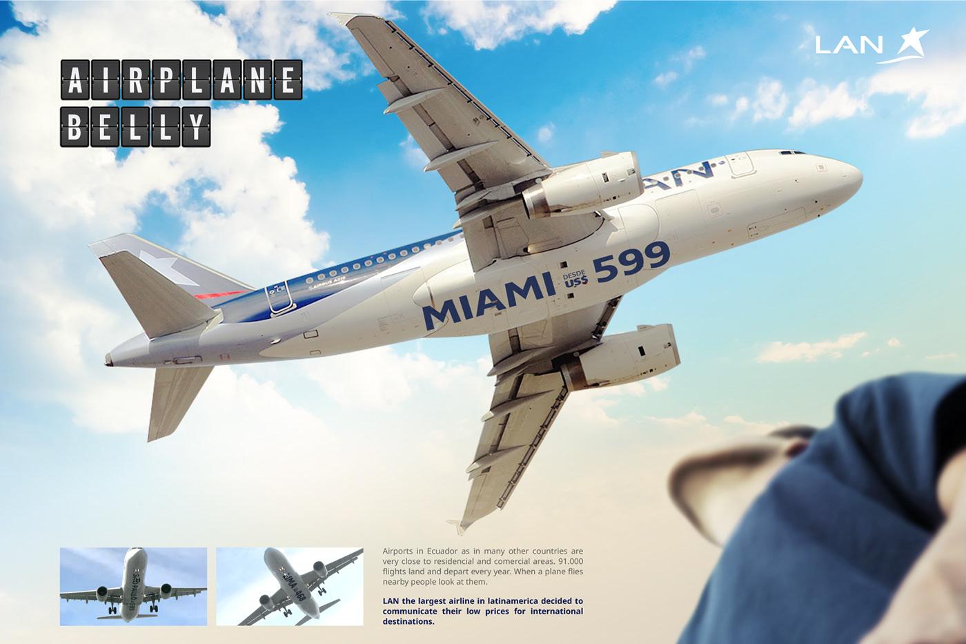 avion airplane LAN