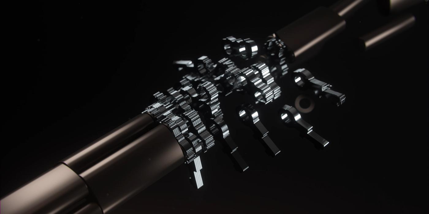 Lenovo houdini particles motion graphics  motion design Laptop
