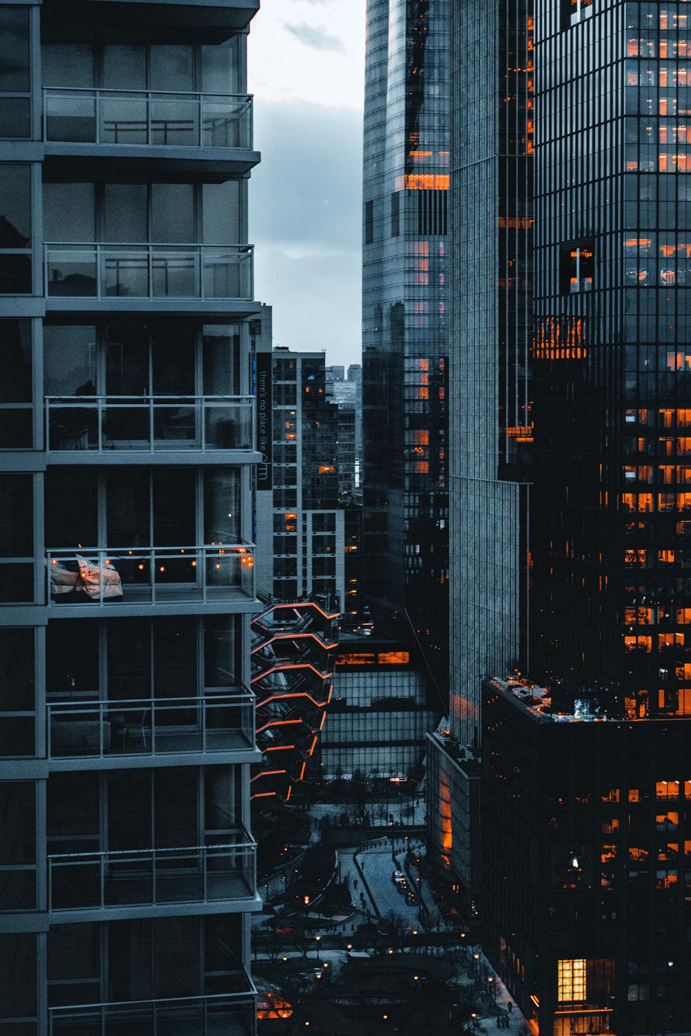 architecture city Hudson Yards New York new york city nyc The Vessel