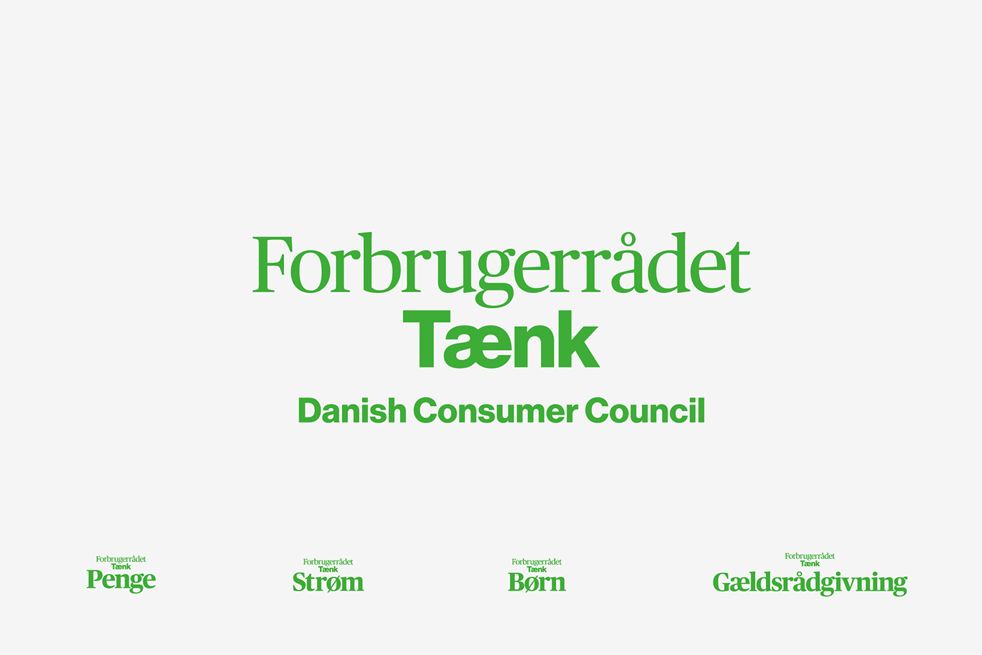 fab1f6b8a23 The Danish Consumer Council: Forbrugerrådet Tænk on Behance