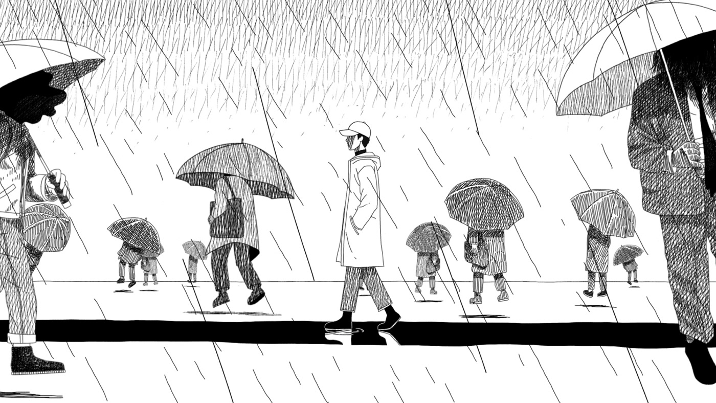 Bts Rm Forever Rain Mv Director Choi Jaehoon On Behance