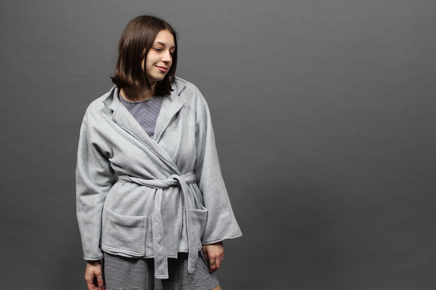 sewing machine garment coat Fleece