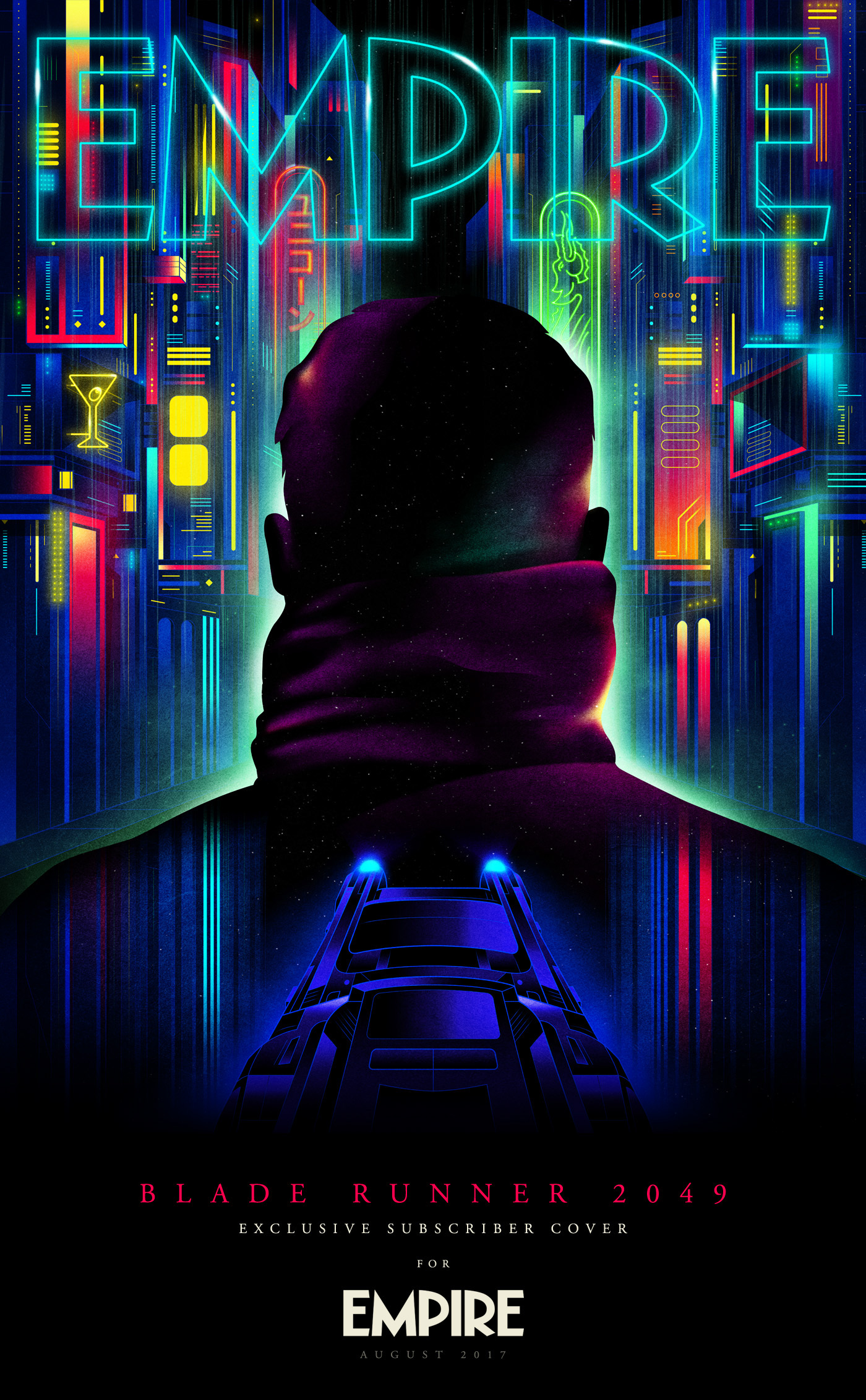 Art Tributes for the upcoming Blade Runner 2049 movie