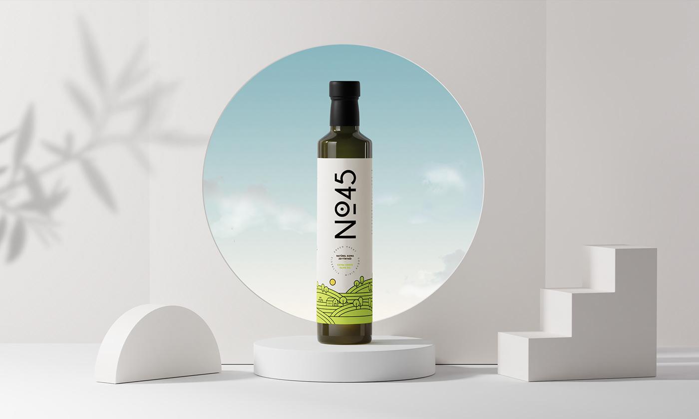 brand identity Branding design identity Label Logo Design Olive Oil Packaging product design  visual identity