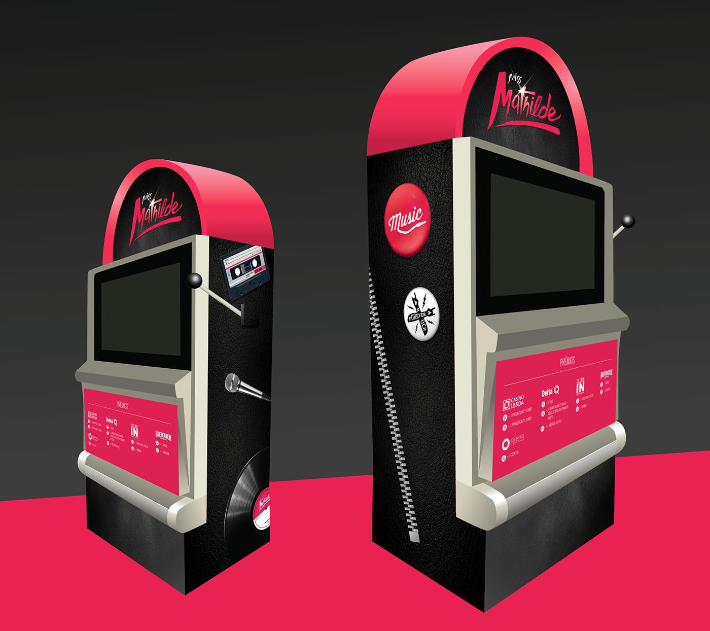 casino machine decoration graphic design  music concert