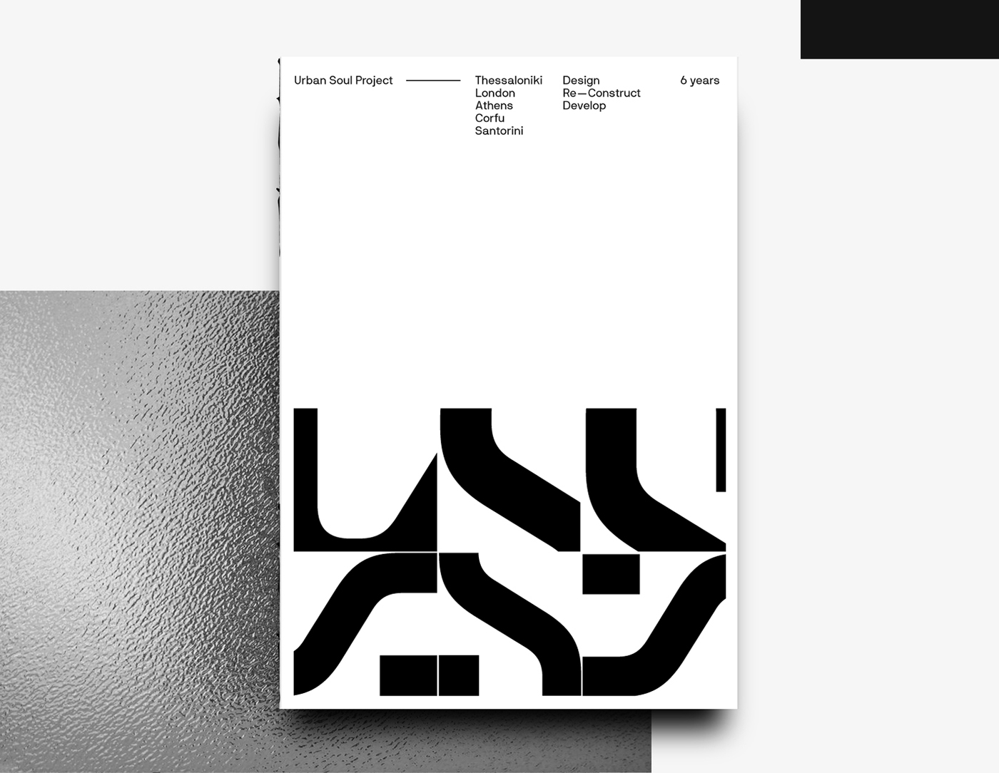 Form,avantgarde,black and white,Corporate Identity,visual system