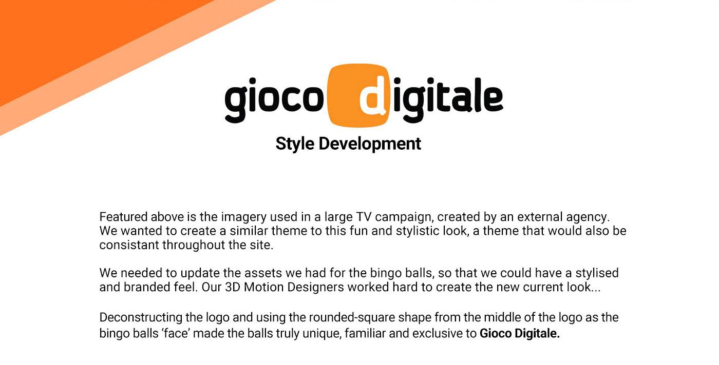 development bingo campaign branded logo 3D motion branding  Corporate Identity Mascot