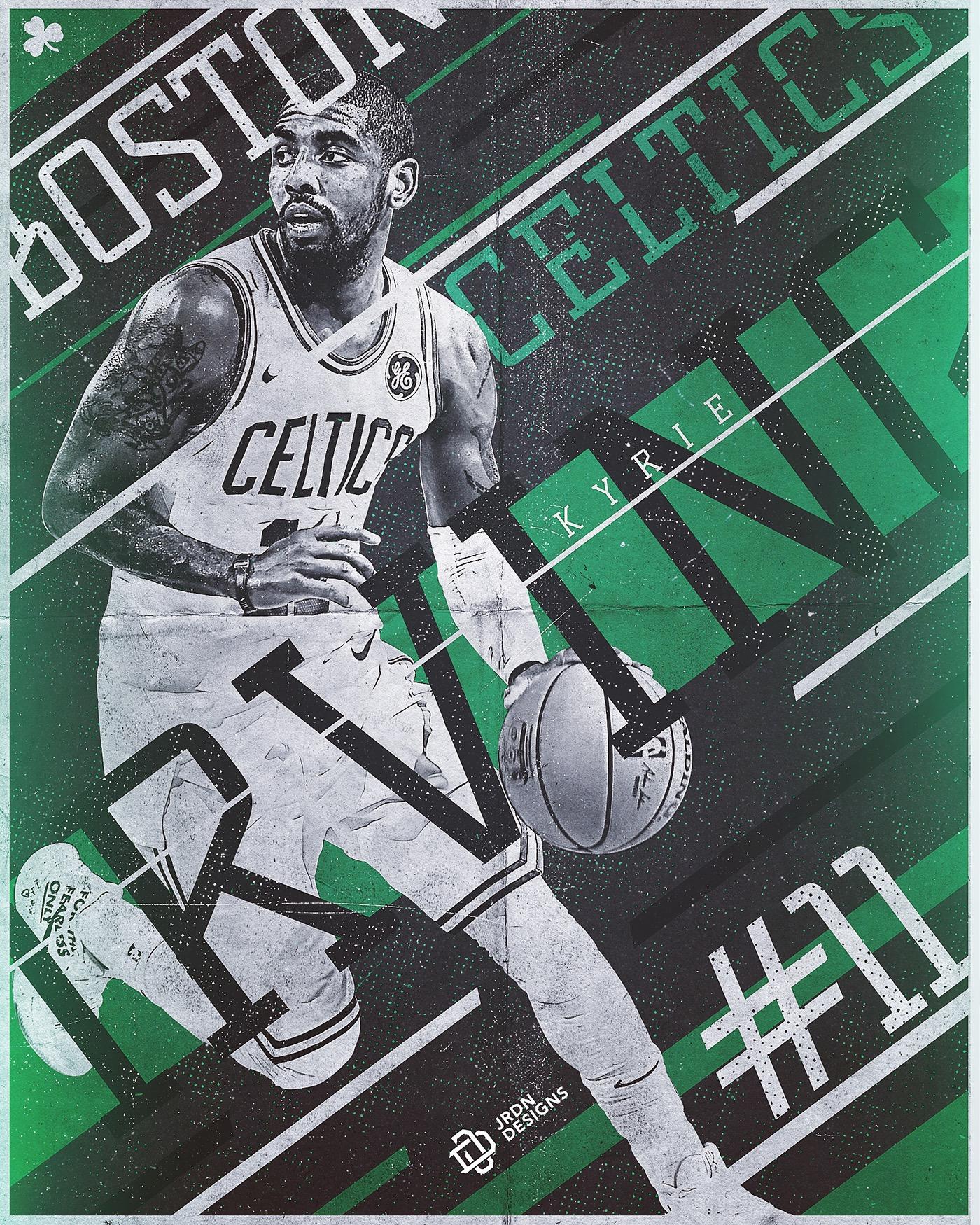 Kyrie Irving Wallpaper: Boston Celtics On Behance