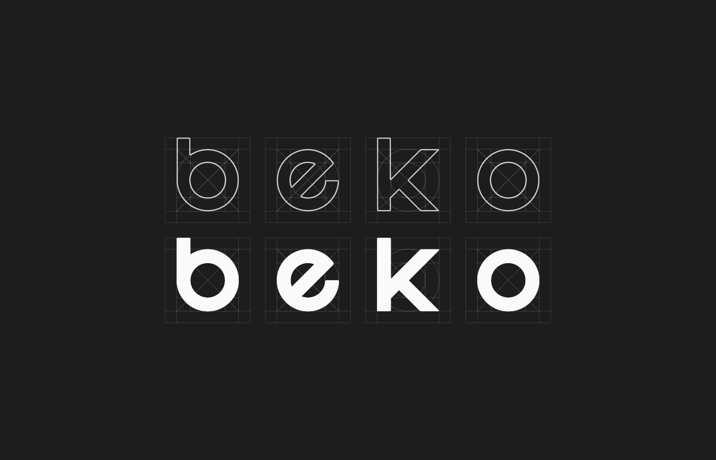 beko redesign logo koç logo Branding design minimal redesign free typeface rebranding visual identity
