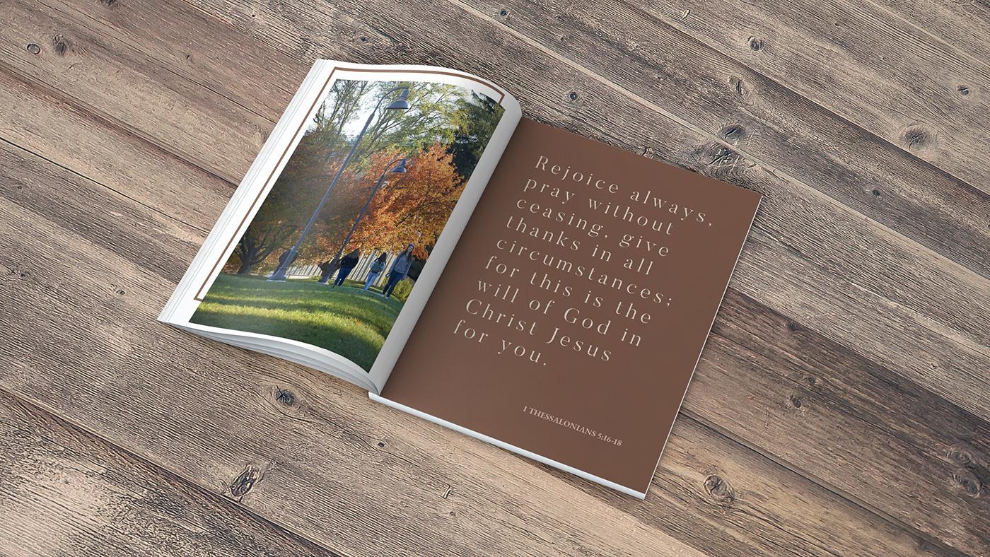 book Fall flipbook Give Thanks gratitude magazine Memory thank you thankful