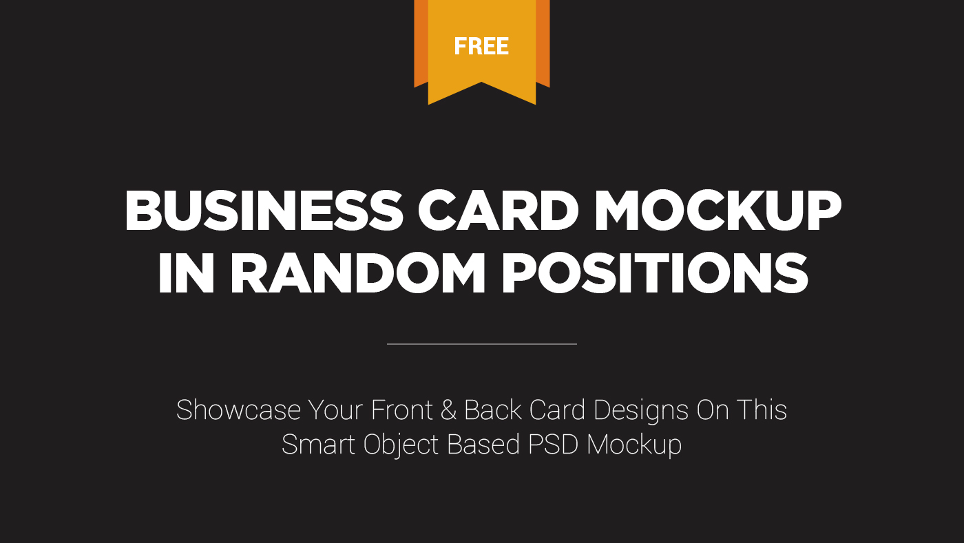 Free business card design mockup on behance click here to download this free magnificent business card design mockup in psd format reheart Image collections