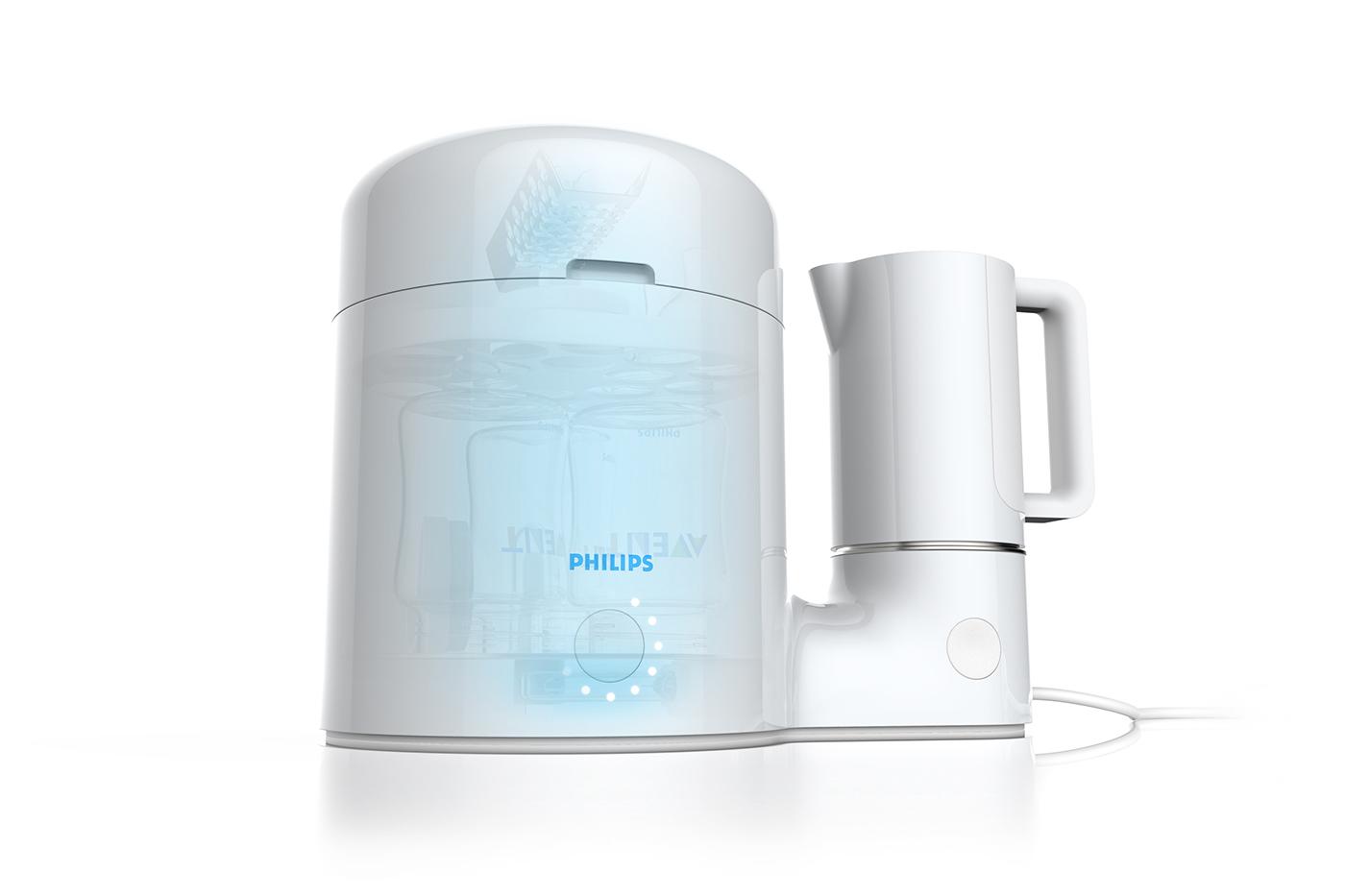 baby Avent Philips uv light friendly human time milk
