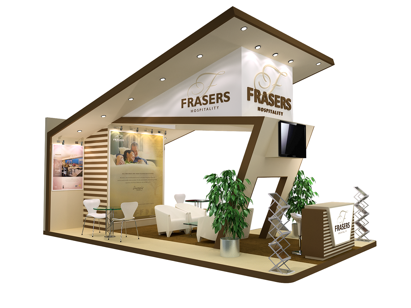Exhibition Stand Designer Job Description : Custom made stands on behance