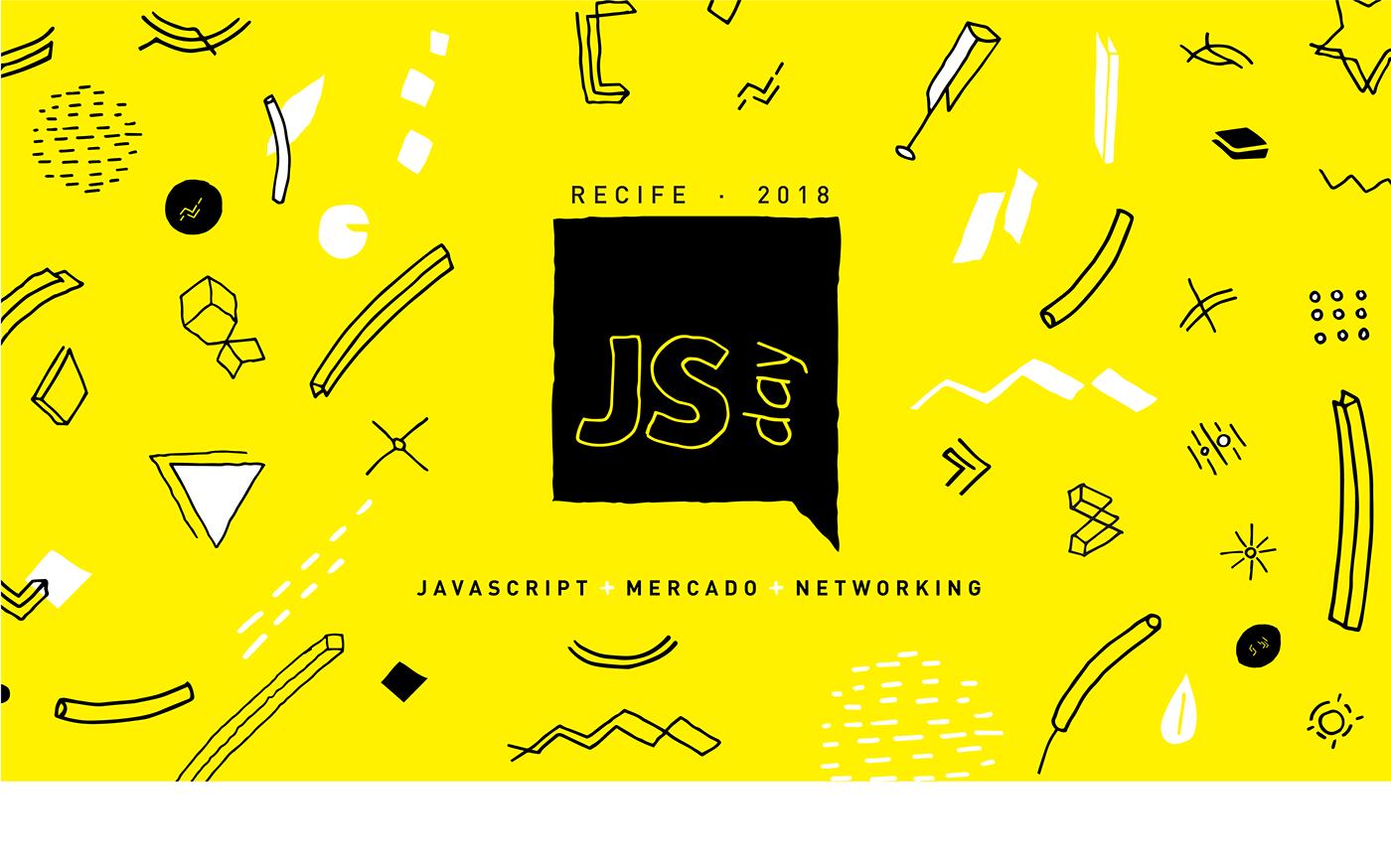 jsday jsday recife design design gráfico recife corisco design corisco JavaScript graphic design  Evento
