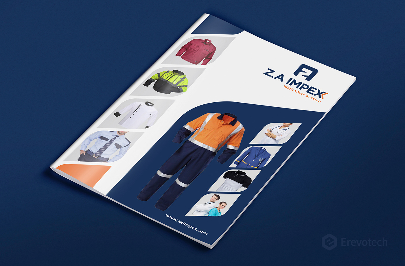 Z.A Impex profile design