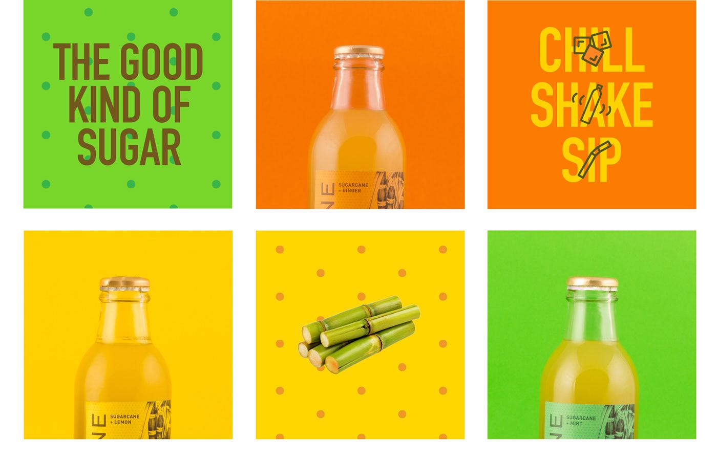 adobeawards juice Packaging Sugarcane type pure natural design healthy