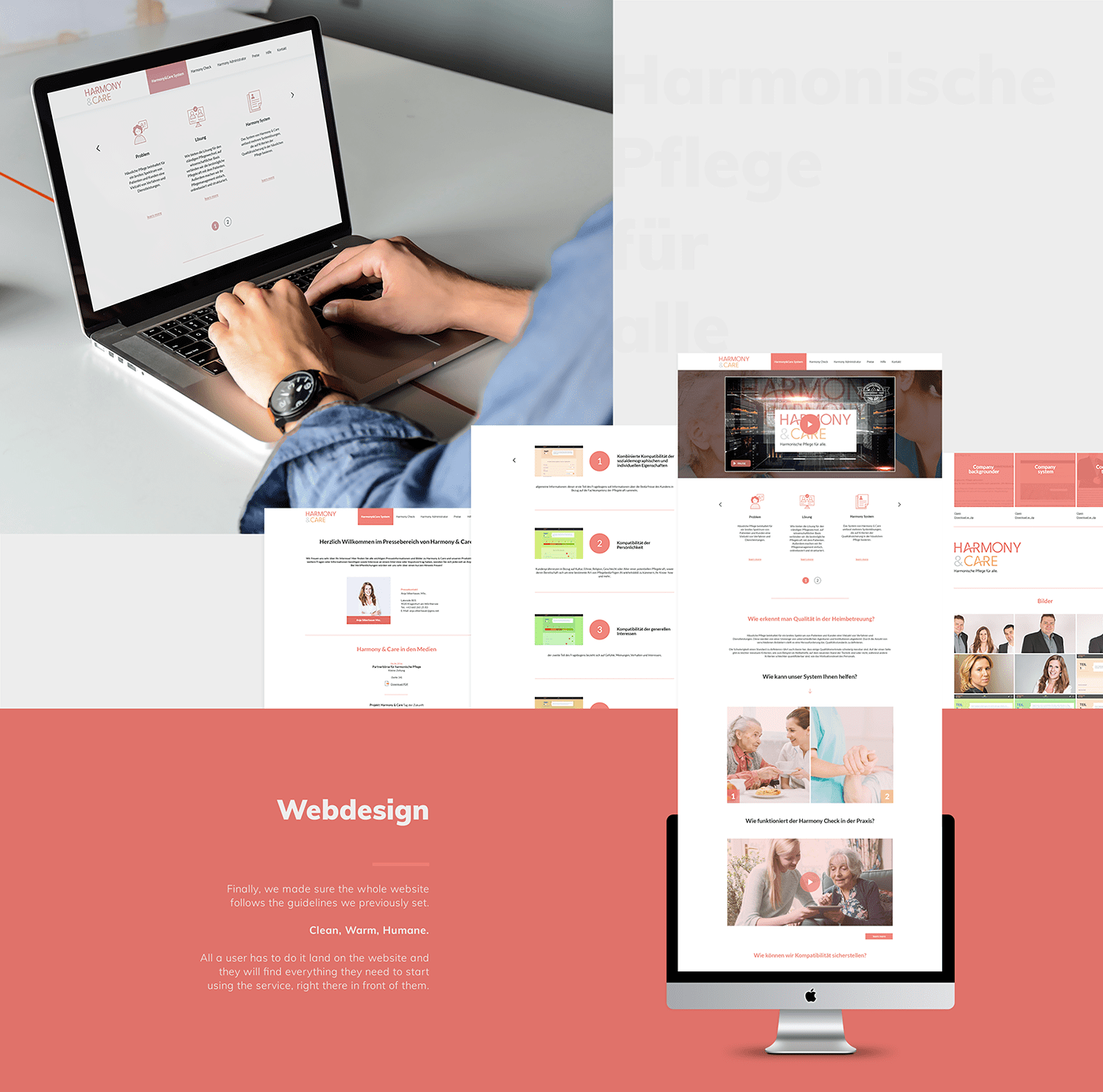 Webdesign Creative Direction  visual identity Startup Case Study icon design  print material Logo Design app ui design