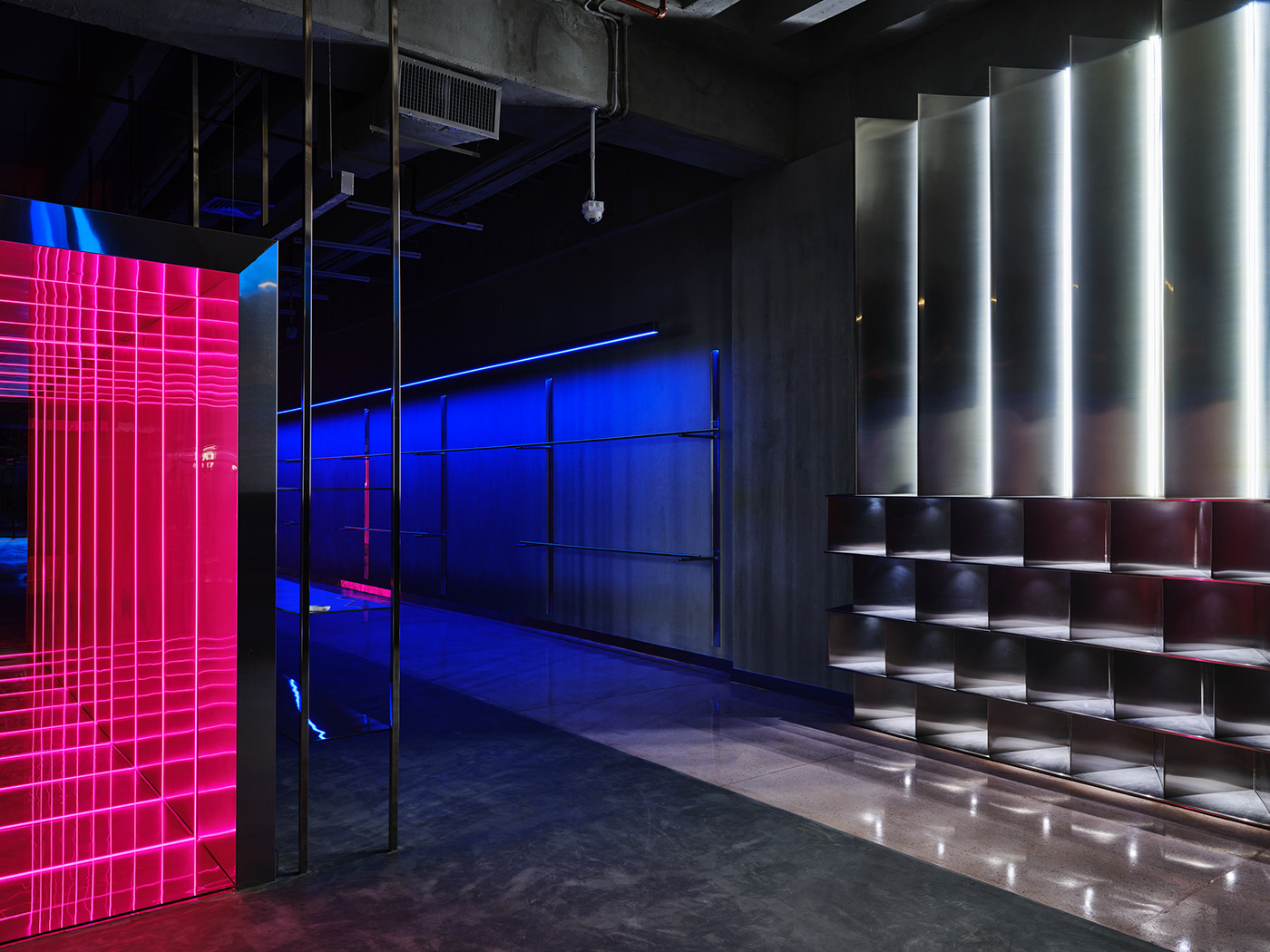 commercial DBO design Fashion  fives fujifilm gfx100 kuwiat store studio