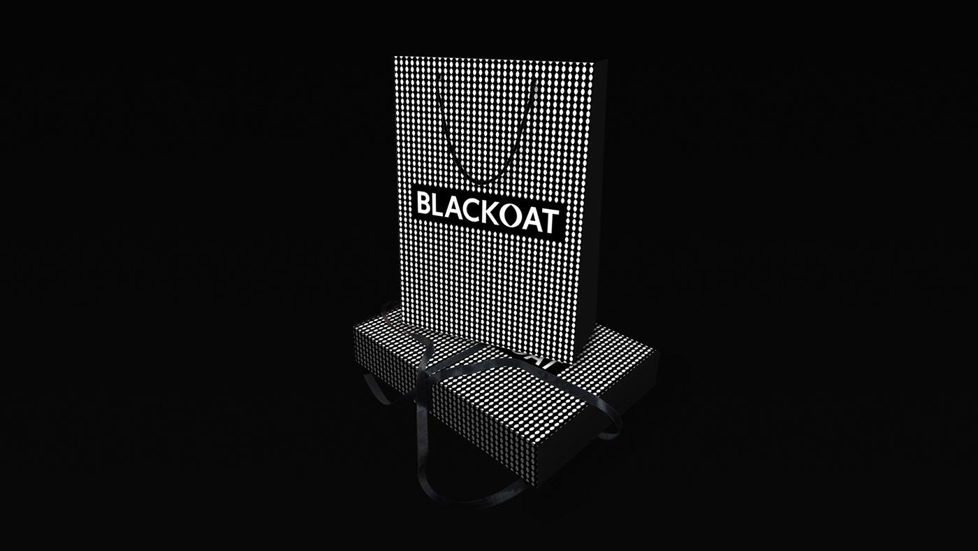 blackout Fashion  galloop kinga dybek visual identity
