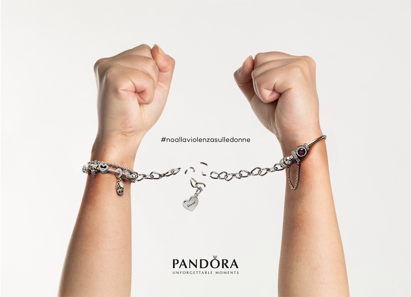 Advertising  pandora pink pubblicita violenza sulle donne