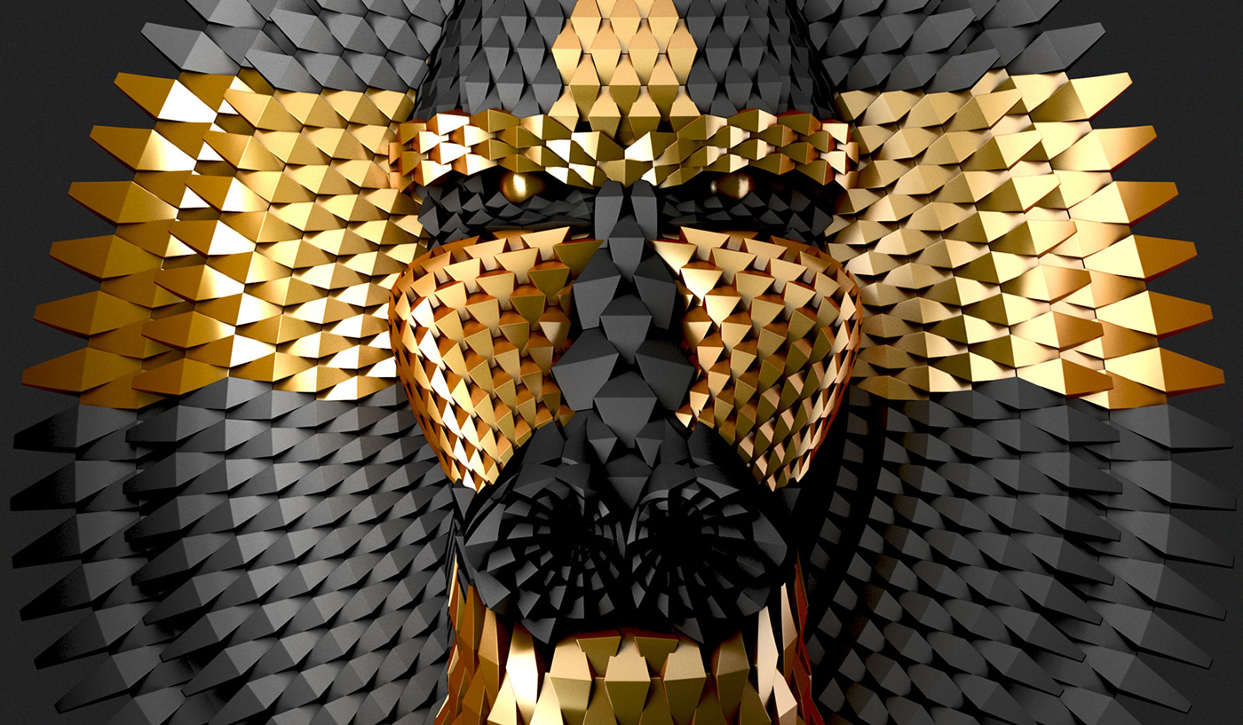 3D art gallery wynwood miami NY losangeles artist ILLUSTRATION  animal