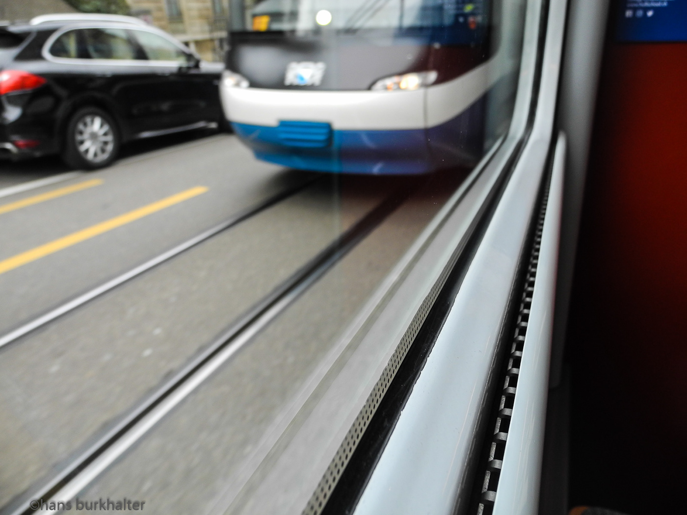 Burkhalter city eisenbahn öffentlicher Verkehr public transport railroad stadt straßenbahn traffic tram