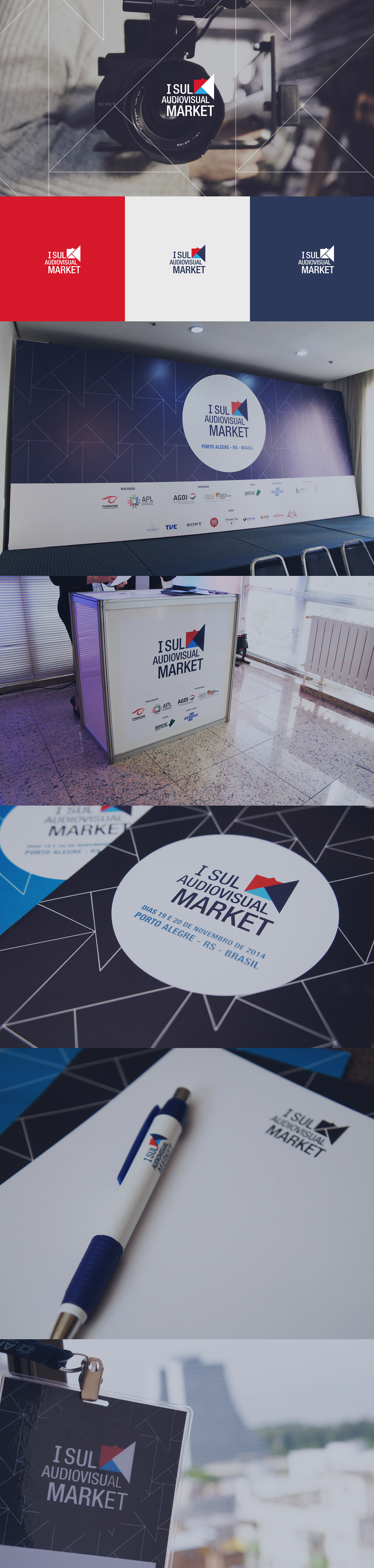 audiovisual market empresas camera negocios Evento business brand logo