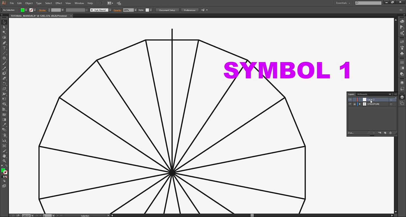 Tutorial: How to create mandalas on Adobe Illustrator on Behance