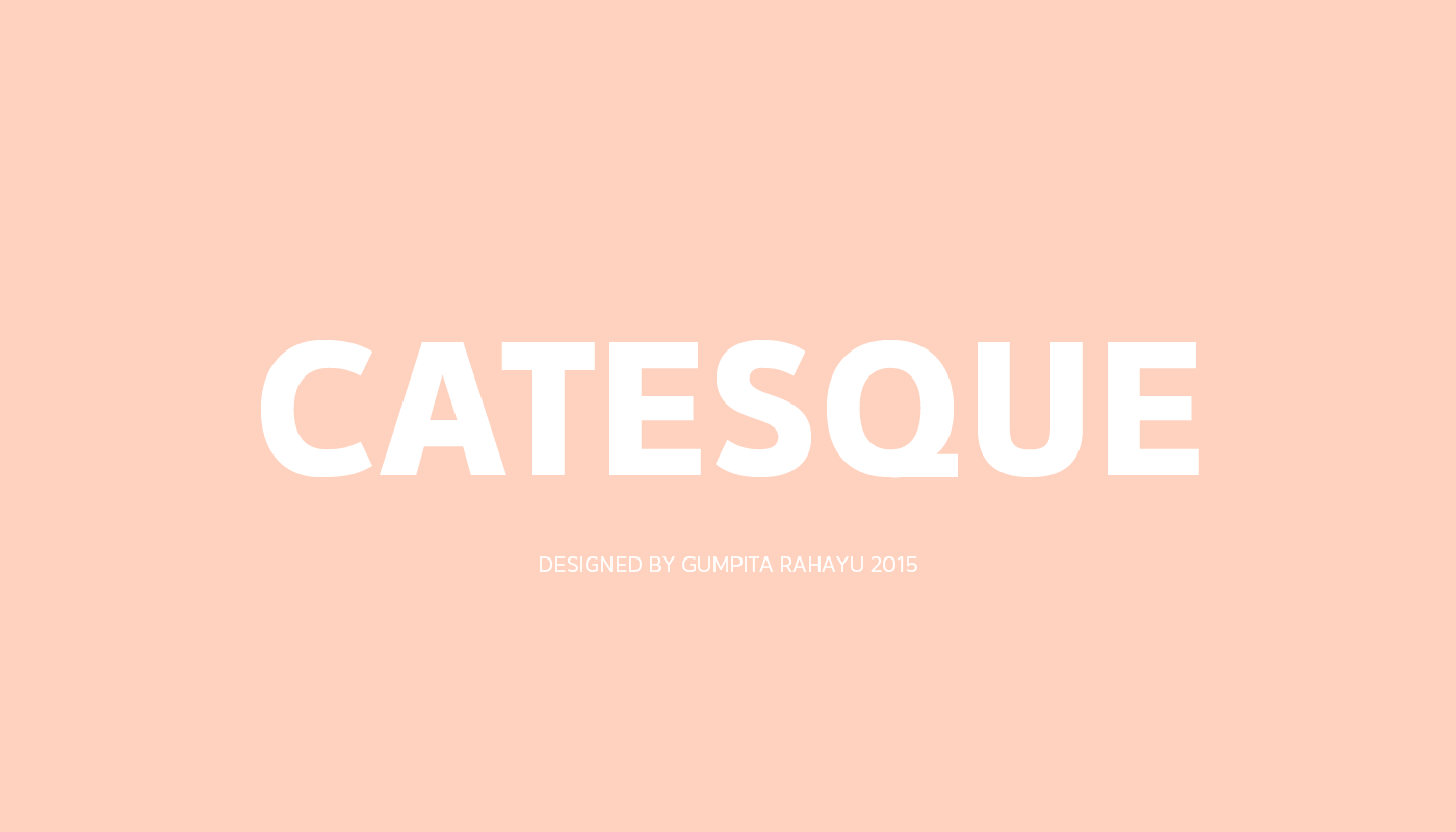 Catesque Font Download