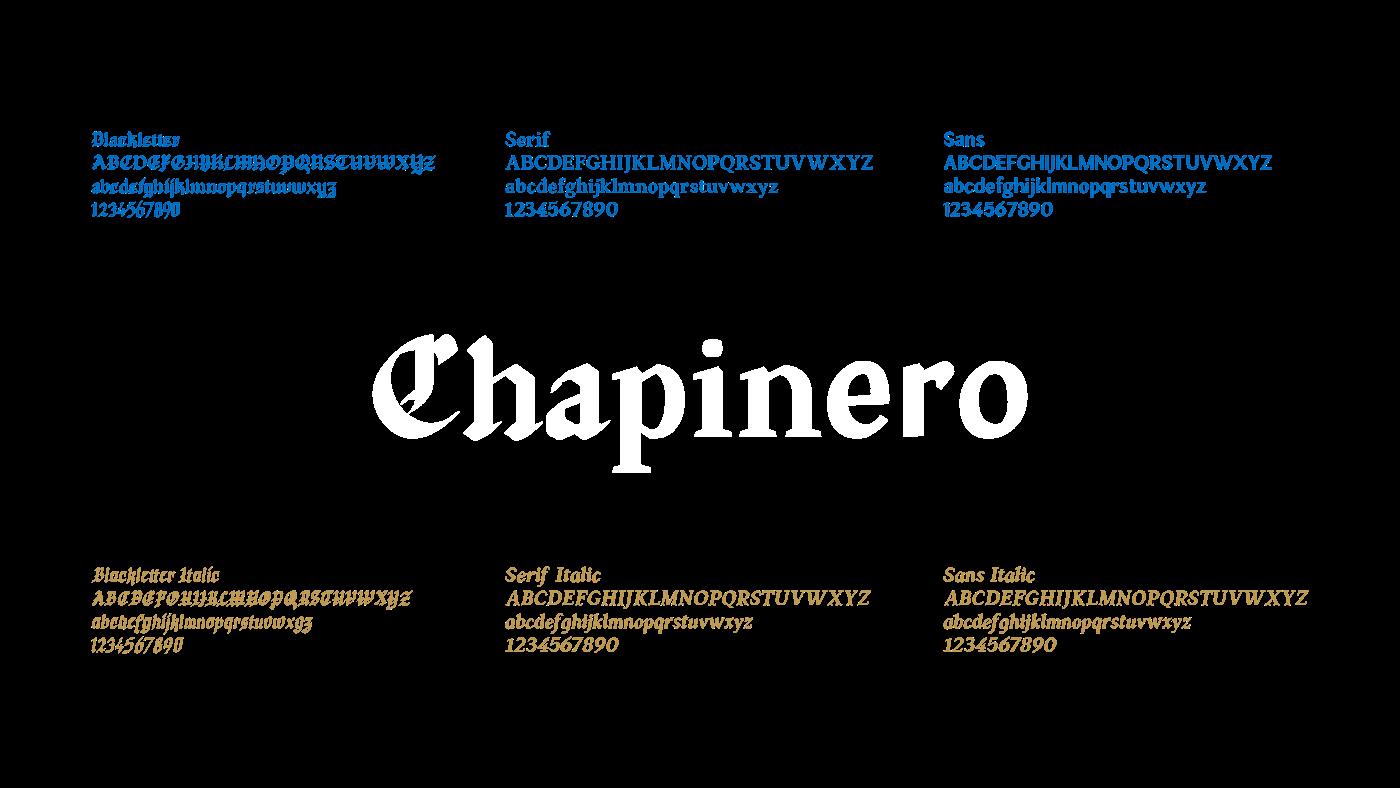Lourdes typography