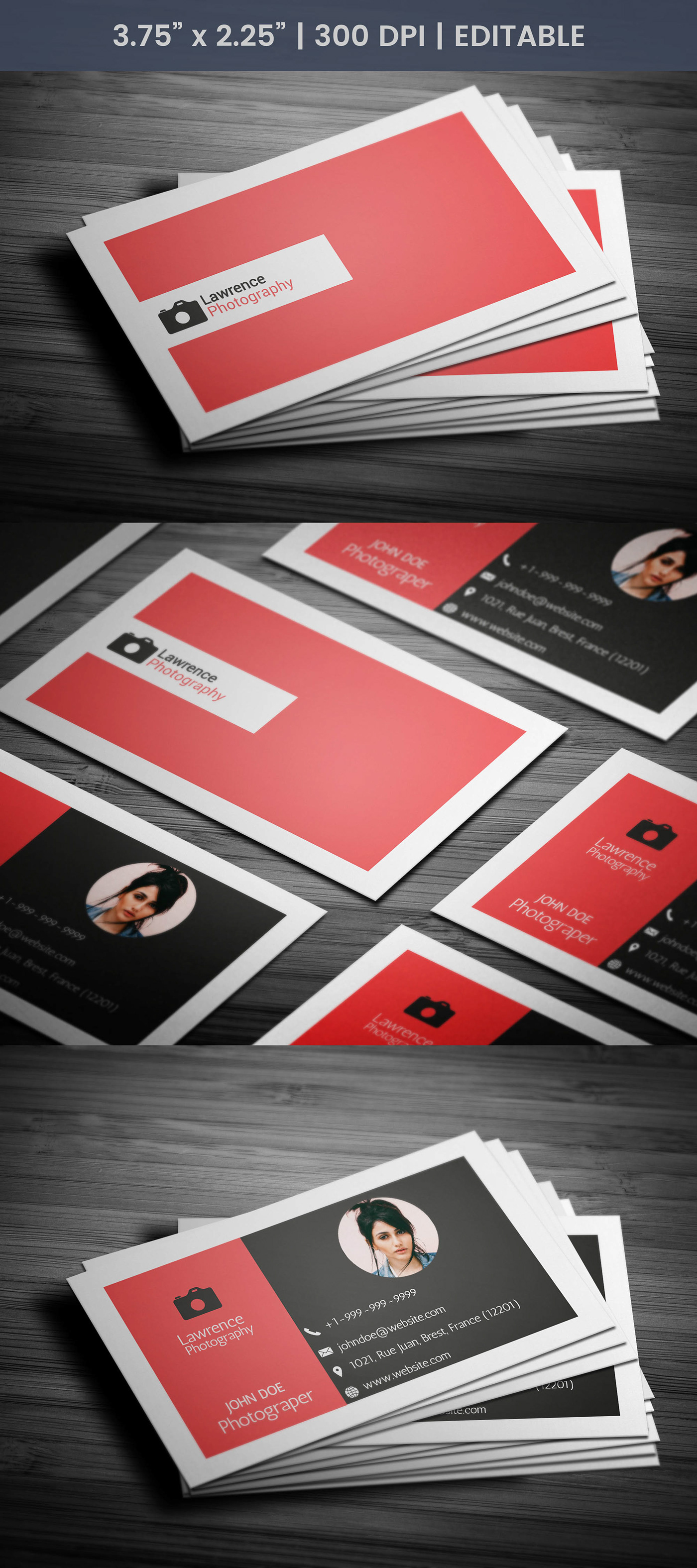 Awesome Photography Business Card On Behance