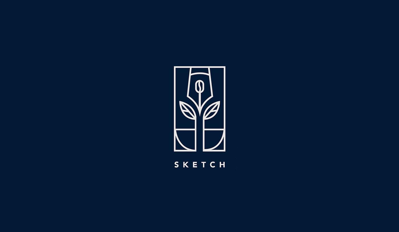 branding  logo Logo Design identity brand identity marks Logotype lettering wordmark minimal