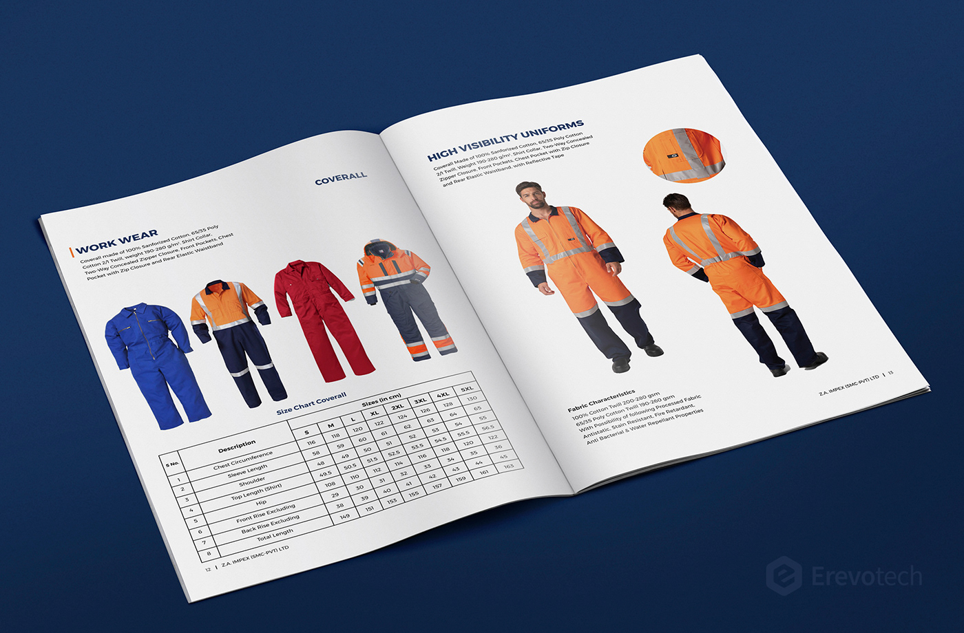 workwear products profile